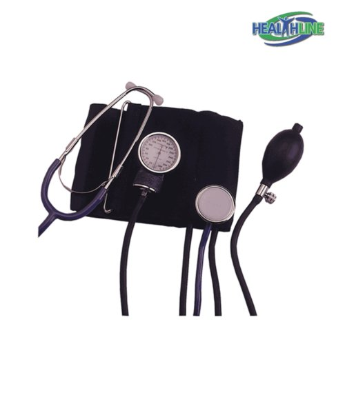 Blood Pressure Monitor Adult Manual W Attached Stethoscope