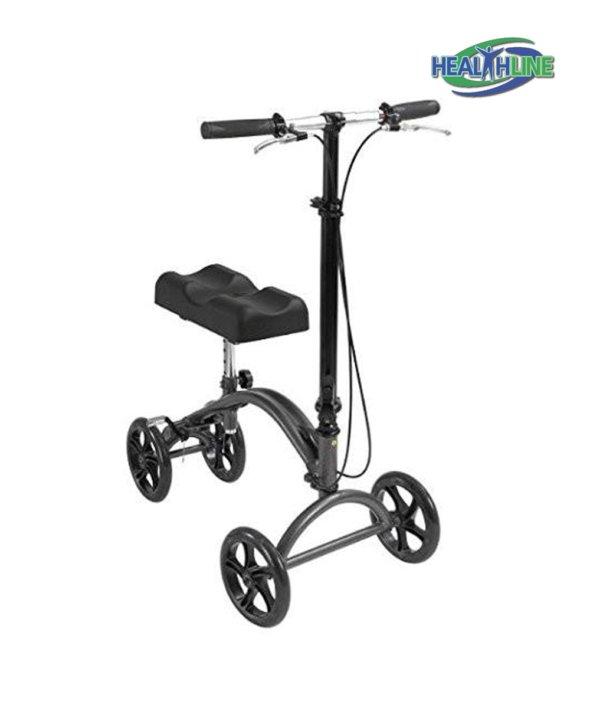 Knee Walker Scooter Steerable W/handle Brake and Basket